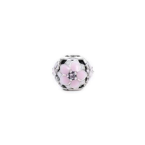 1403 Pink Lotus Charm