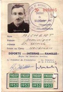 Dominique Richert déporté par mesure de représailles