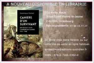 Edition » Cahiers d'un survivant «