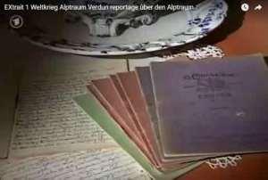 Alptraum Verdun cauchemar Verdun 1er extrait d'un documentaire allemand ( vidéo)