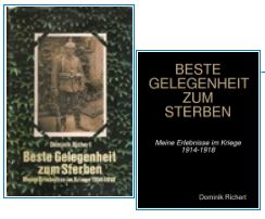 Réédition de «BESTE GELEGENHEIT ZUM STERBEN» papier et eBook, commander sur Lulu.com