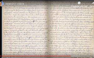 Manuscrit original 8 cahiers en 8 minutes