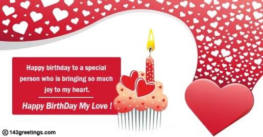 happy birthday my love image
