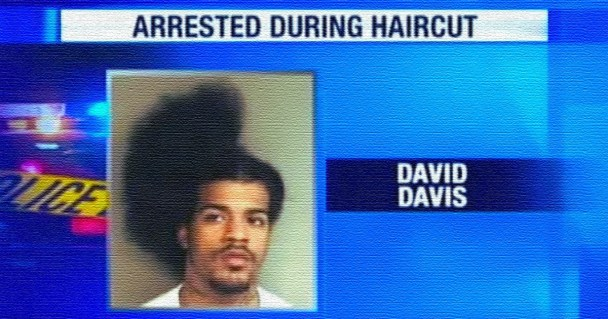 man arrested during haircut