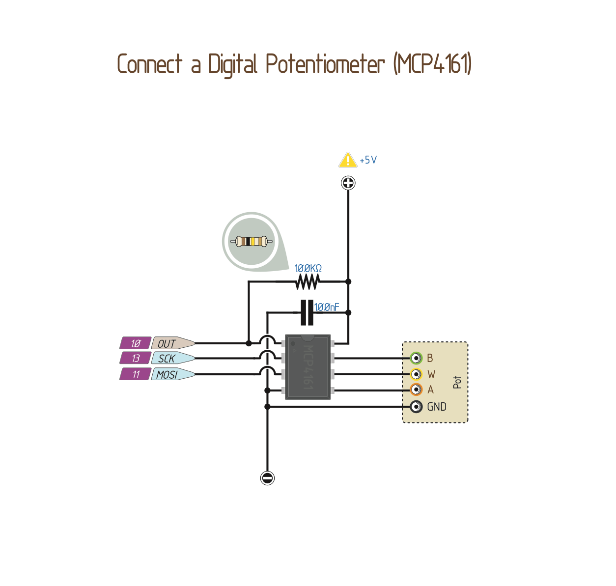 10k ohm audio control potentiometer with spst switch wiring diagram nordyne ac capacitor schematic 30 images