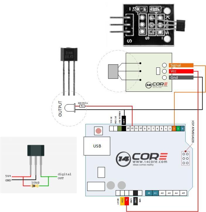 optical sensor wiring diagram