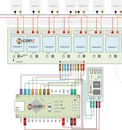 wiring bluetooth hc06 in 8 channel relay with android arduino arduino 8 channel relay wiring diagram [ 1238 x 928 Pixel ]