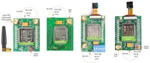 Wiring the A7  A6  A6C  A2  A20 GSM GPRS  GPS WIFI Quad Band 2G GSM Module Board | 14core