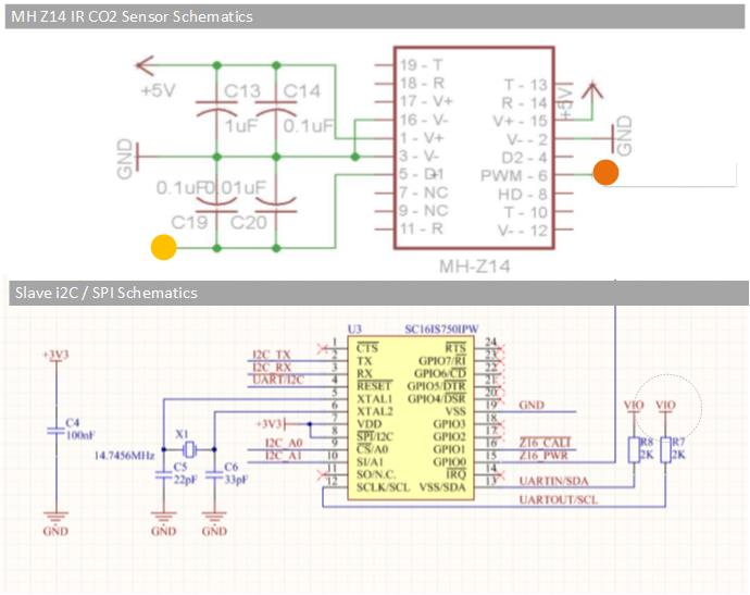 3 Pin Wiring Diagram Wiring The Nondispersive Infrared Mh Z14 Carbon Dioxide