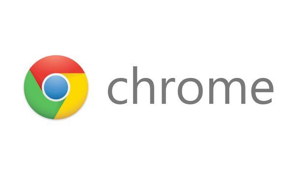 El logo de Google Chrome.