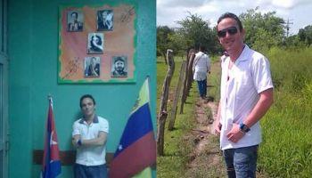 Adrián Milia Artiles, un enfermero intensivista que desertó de la misión cubana en Venezuela. (14ymedio)