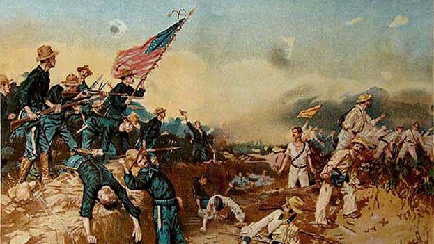 Invasión terrestre durante la guerra entre EE UU y España