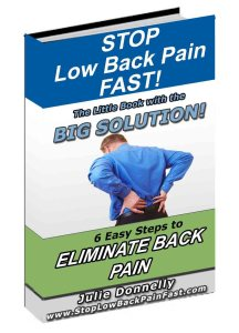 stop low back pain fast