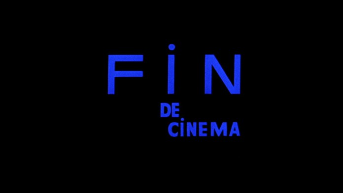 Fig. 1. Godard already proclaimed the end of cinema in 1967's Weekend with this famous intertitle.