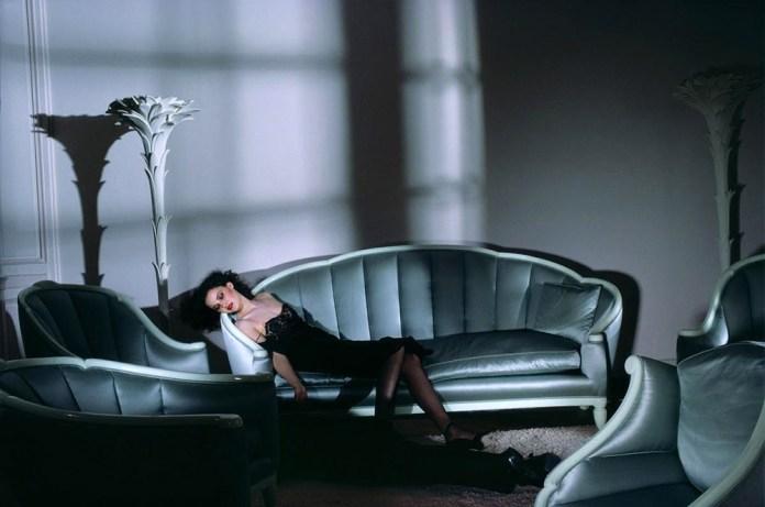 Fig. 8: Den provokerende modefotograf Guy Bourdins billedkompositioner af sex, mode og død (1980, uden titel) har sammen med…