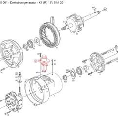 Bosch Alternator Wire Diagram 2002 Toyota Corolla Engine 12 Volt Vw Generator Voltage Regulator Wiring