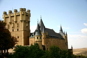 Segovia-castillo Disney-s