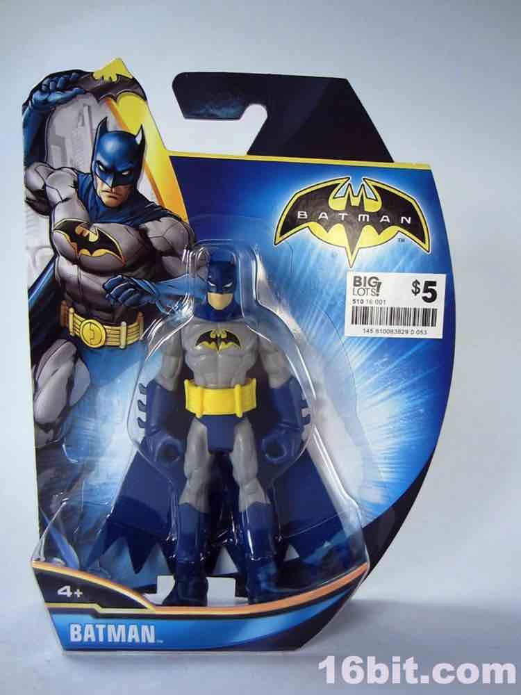 16bitcom Figure of the Day Review Mattel Batman Batman