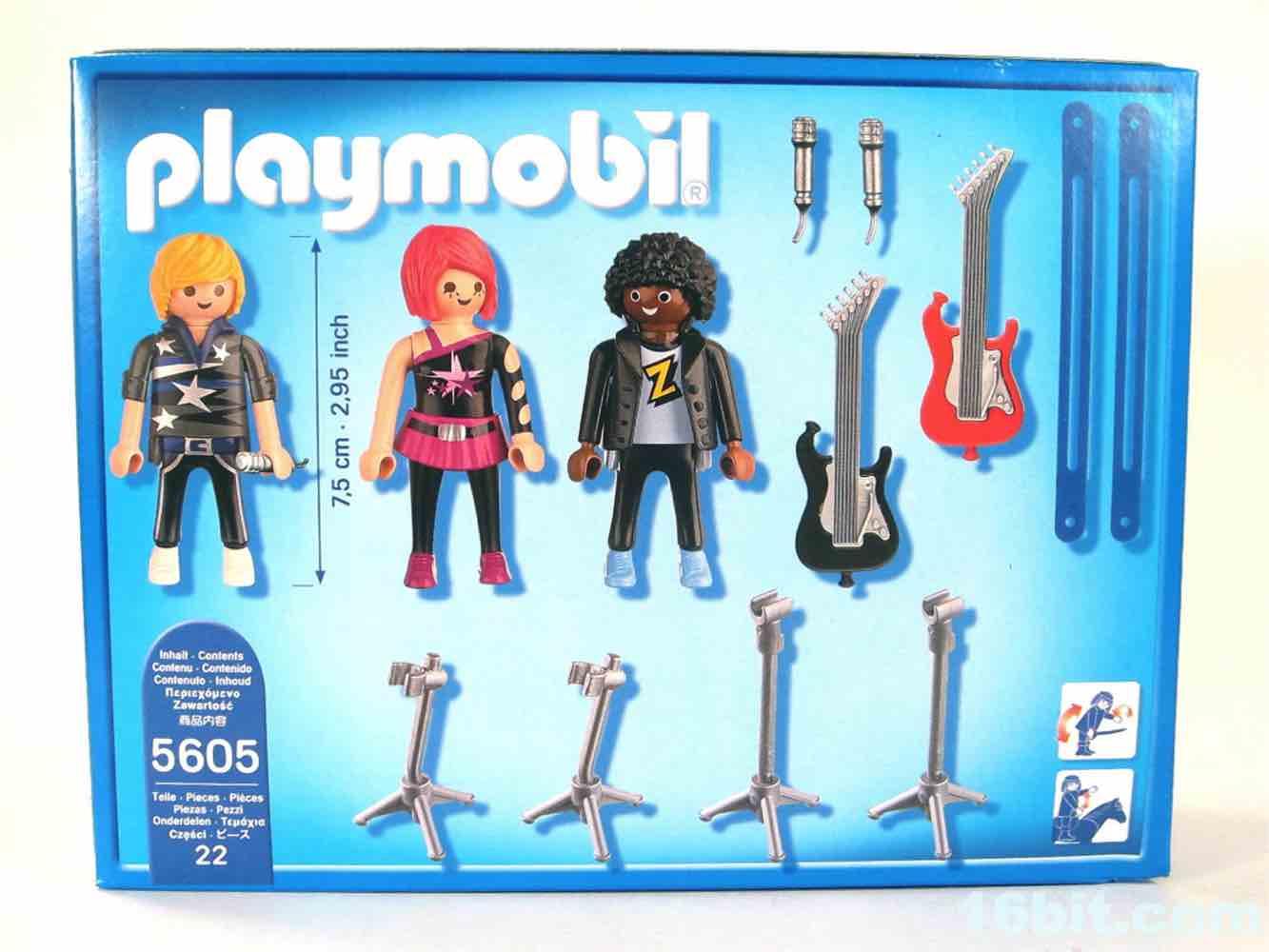 16bitcom Figure of the Day Review Playmobil City Life 5605 PopStars Band