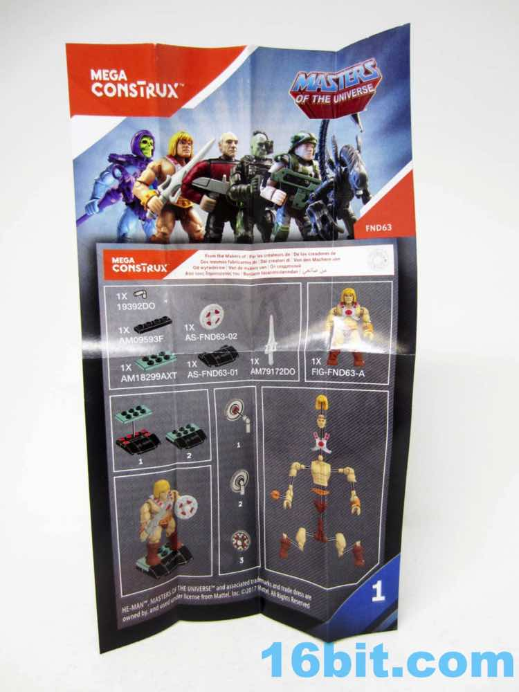 16bitcom Figure of the Day Review Mega Construx Heroes