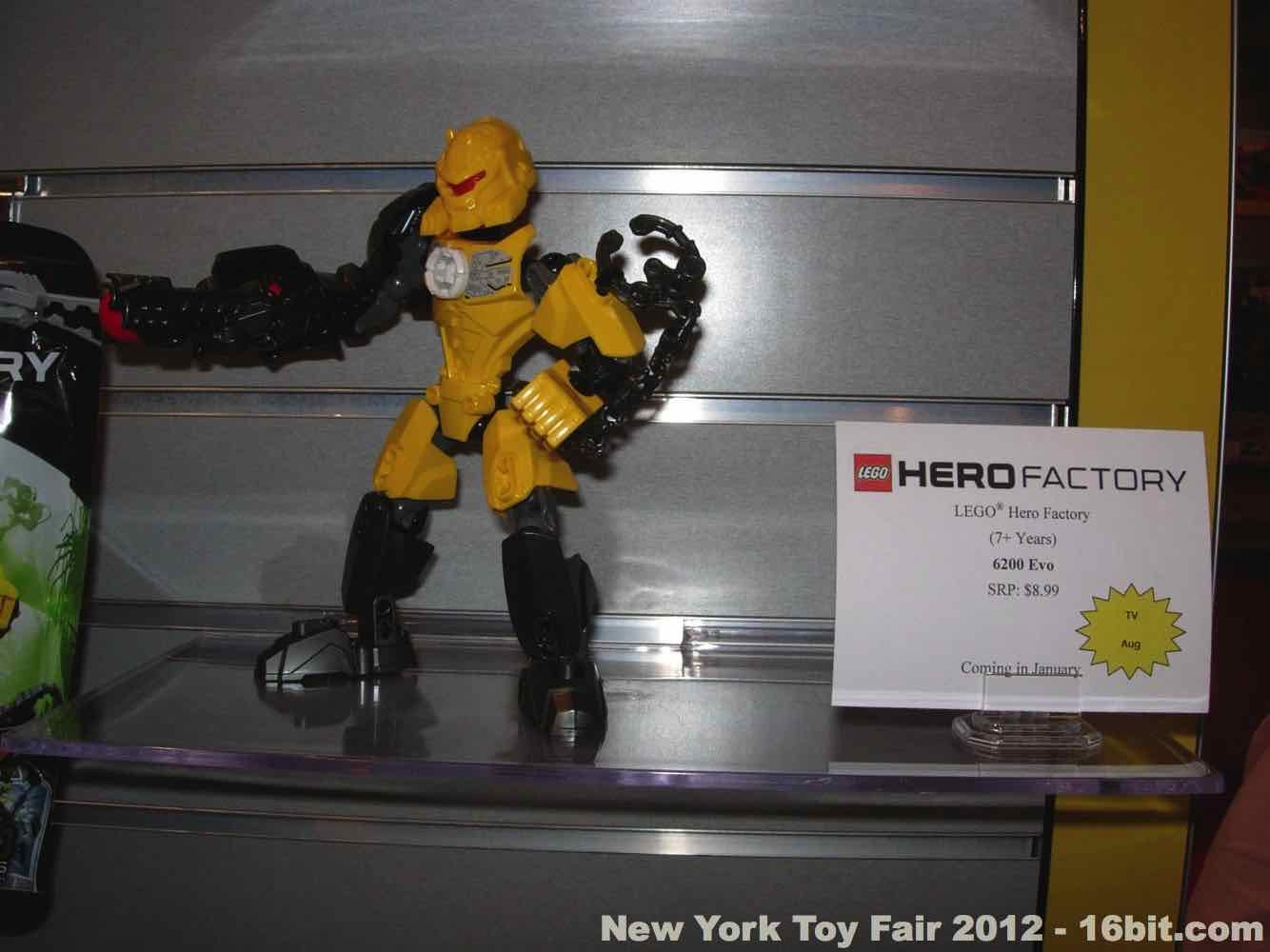 16bitcom Toy Fair Coverage of LEGO Hero Factory from