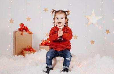 Sesión de fotos Navidad Noa