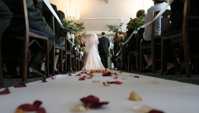 Vestido de novia en boda