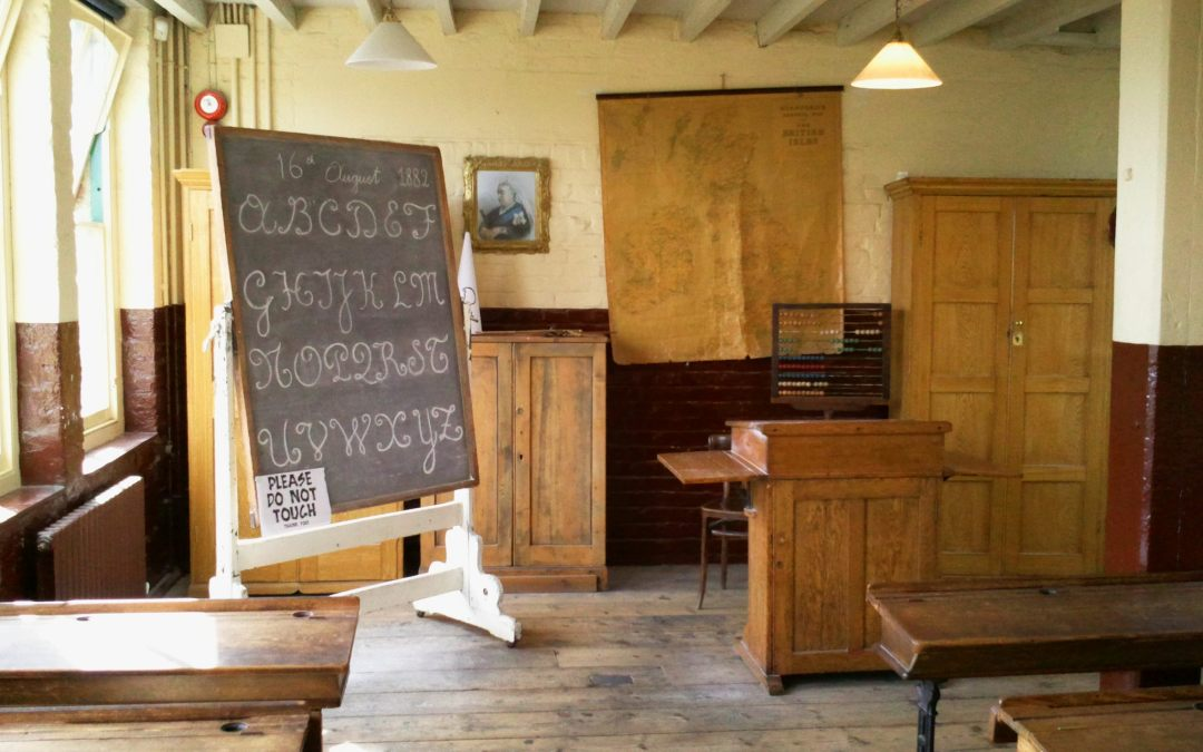 66c5b0b05 Victorian School Room at 16 Trinity Square during the Victorian ...