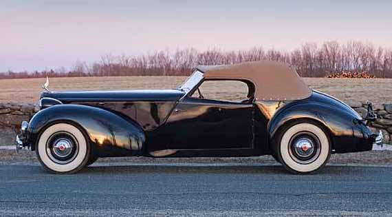 Packard 1939 Clark Gable