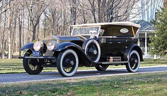 Rolls Royce Presidente Woodrow Wilson