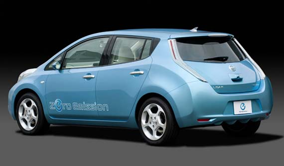 Nissan Leaf electrico