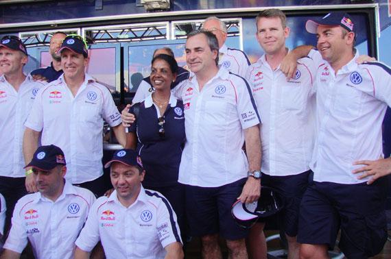 Equipo Volkswagen Dakar 2010