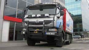 Renault Trucks en el Dakar
