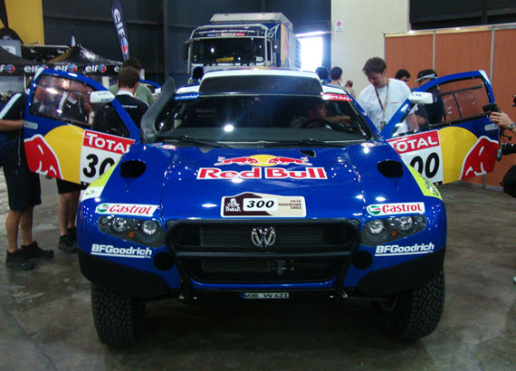 Volkswagen Touareg Dakar 2010