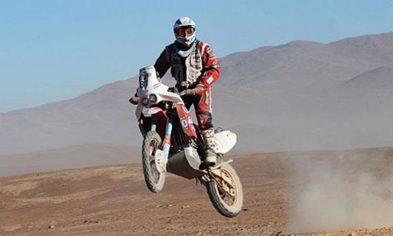 Motos novena etapa dakar 2010