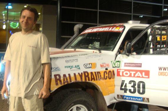Jorge murano categoria solos Dakar 2010