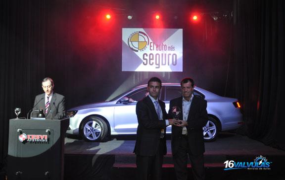El Volkswagen Vento fue premiado por CESVI como el Auto más Seguro