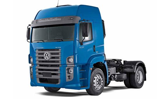 VW Camiones y Buses en el salon de Buenos Aires