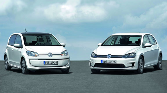 Volkswagen e-up y e-golf