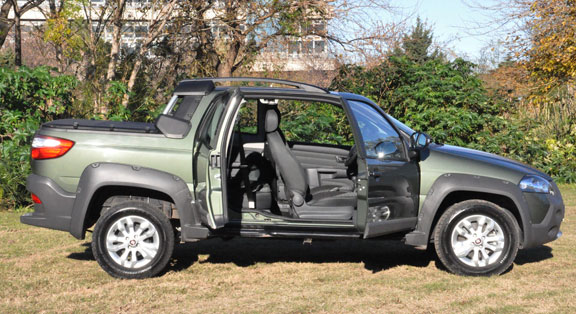 nueva Fiat Strada Doble Cabina Adventure