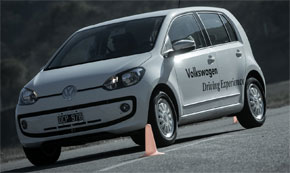 Volkswagen up Driving Experience 2014