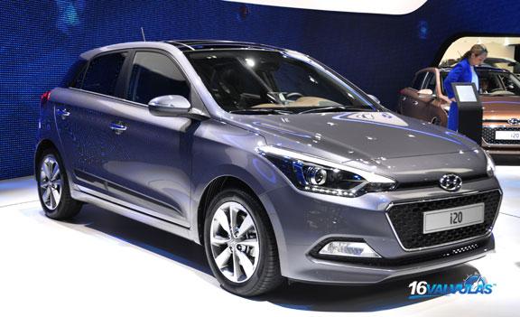 Se presentó en el Salón de Paris la nueva Generación del Hyundai i20