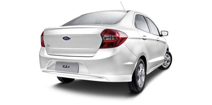 nuevo Ford Ka+ atras