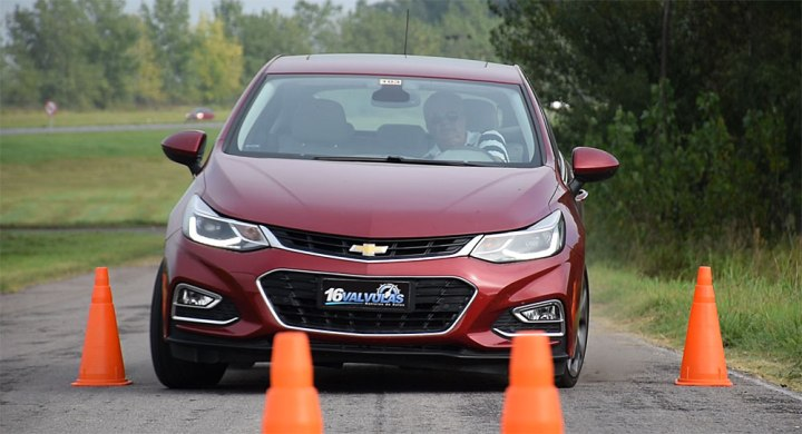 test drive Nuevo Chevrolet Cruze