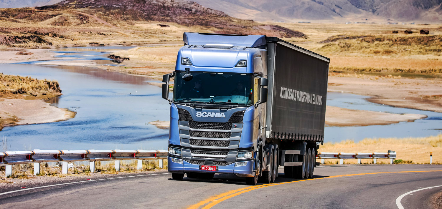 scania the journey