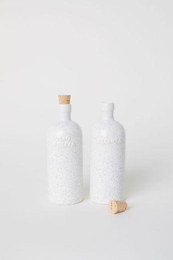 Essig- und Ölflaschen 14,99€