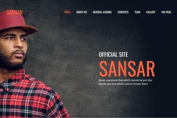 Professional Music & Entertainment Web Design Solutions