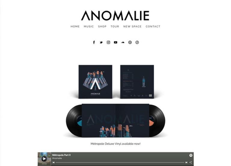 Anomalie Website