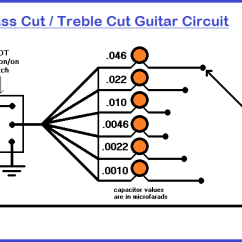 Rotary Switch Wiring Diagram Guitar Belling Range Cooker Bass Cut Treble Tone Circuit Simply By Flipping The Dpdt Toggle Each Of Capacitors Can Be Placed Into Signal Path In Series Producing A Or Parallel