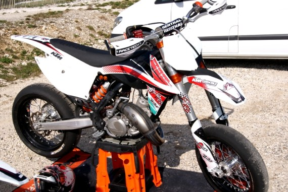 Budget course supermotard